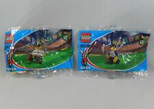 LEGO Coca Cola Japan Soccer 4454 Referee & 4456 Doctor Minifig Set NEW Polybags