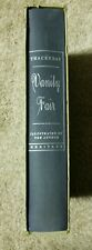 Vanity Fair William M.Thackeray Hardy, Heritage Press, Sandglass & Slipcase 1968