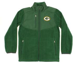 NFL Youth Green Bay Packers Tactical Polar Fleece Full-Zip Jacket