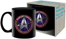 Star Trek Starfleet Command Logo Black Ceramic 11 oz Mug NEW BOXED