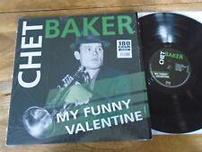 CHET BAKER MY FUNNY VALENTINE AUDIOPHILE LP 2012 RE. VNL12205 EX+