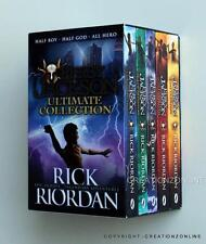 5 BOOK SET PERCY JACKSON ULTIMATE COLLECTION RICK RIORDAN COLLECTION BOXED NEW