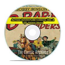 Action Adventure Comics, Vol 2, Champ, Bobby Benson, Long Bow Golden Age DVD D45