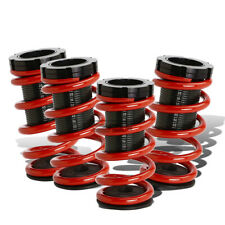 "Fit 94-99 Celica T200 Red 1-3"" Adjustable Coilover Suspension Lowering Spring"