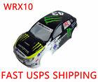1/10 RC Painted Precut Drift Touring WRC WRX10 Car Body Shell 190mm