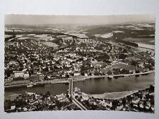 alte  Ansichtskarte Kettwig Essen Luftbild  Fliegeraufnahme 1963