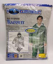 Weather-Rite 8127 Rain Gear In Package - Jacket & Pants / Rain Suit Heavy Vinyl