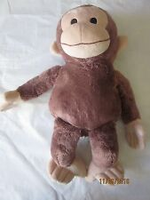 Kohl's care plush Curious George with stitched eyes