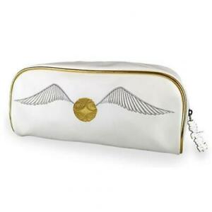Official Harry Potter Golden Snitch Trunk Wash Bag Toiletries Case New