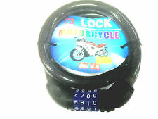 New 4 Digit Combination Bicycle wire cable lock -Brand New