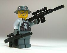 Brickarms M110 / M16 Sniper Rifle for Lego Minifigures (5 Pack) Black