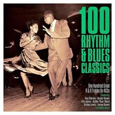 100 RHYTHM & BLUES CLASSICS - VARIOUS ARTISTS (NEW SEALED 4CD)