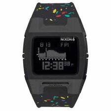 Nixon Men's A2812300 Lodown Silicone Black Multi Speckle A281-2300-00