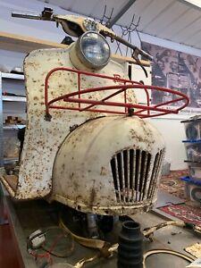 Piatti scooter 125 Cyclemaster not Lambretta or Vespa very rare
