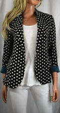 NWT CARTONNIER ANTHROPOLOGIE Dotside Polka Dot Blazer Size Small