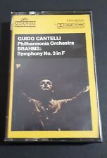 BRAHMS: Third Symphony by Philharmonia orchestra guido Cantelli 1979 original