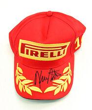 KING Kenny ROBERTS SIGNED Red Pirelli Baseball Cap AFTAL COA Autograph