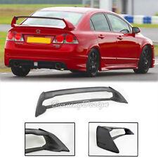 For 06-11 Honda Civic Sedan Mugen RR Rear Trunk Wing Spoiler ABS Plastic FD2 FA2