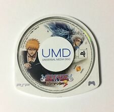 USED PSP Disc Only BLEACH Heat the Soul 3 JAPAN Sony PlayStation Portable import