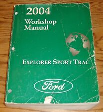 Original 2004 Ford Explorer Sport Trac Shop Service Manual 04