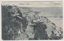 Isle of Wight postcard - Shanklin, Looking East - P/U 1908 (A469)