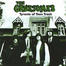 THE GRUESOMES - Tyrants of Teen Trash - CD - CDN - Garage-Punk -Bonus Songs L@@K