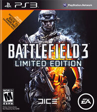 Battlefield 3 Limited Edition PS3 PAL 4 - Played once, great condition!