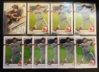 "2020 Bowman Draft NICK YORKE ""1st Rookie"" 10 Card Lot- 6 P/ 3 CHROME/ 1 20 in 20"