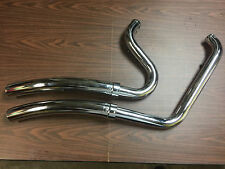 VANCE AND HINES BIG RADIUS EXHAUST FOR RIGHT SIDE DRIVE BIKES NEW NO HEAT SHIELD