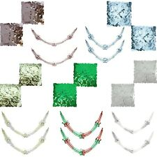 30cm x 2.7M Foil Garland Christmas Ceiling Wall Window Hanging Decoration