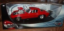 1966 Chevy Corvette Red 100% Hot Wheels 1:18 Scale Die Cast Metal