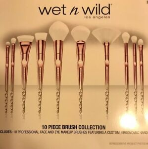 Wet N Wild Limited Edition 10 piece Holiday Pro Brush Set 2018