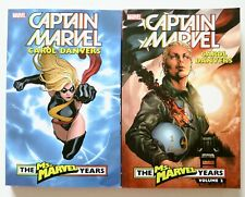 Captain Marvel Carol Danvers Ms. Marvel Years Vol 1 & 2 Graphic Novel Comic Book