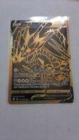 Eternatus V Gold Shiny Holo Rare Shining Fates Pokemon SV121/SV122 NM
