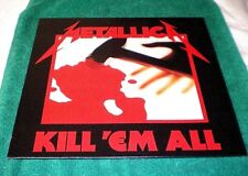 Metallica - Kill 'Em All  (2008 UK Universal/Virgin/EMI release) NEW & SEALED LP