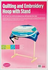 Edmunds Wood Hoop & Floor Stand 72301 SEWING & QUILTING NEW