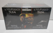 1995 Wing Commander Starter Decks Display Box With 12 Sealed Decks ( 720 cards )