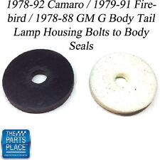1978-92 Camaro / Firebird / GM G Body Tail Lamp Housing Bolts to Body Seals
