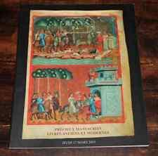 CATALOGUE VENTE 2005 DROUOT PIASA Précieux manuscrits livres anciens + résultat