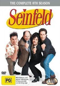 Seinfeld : Season 8 DVD, Brand New Sealed Free Post