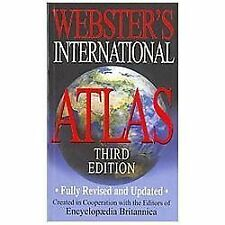 Webster's International Atlas, Third Edition (2012, Paperback)