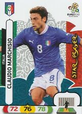 CLAUDIO MARCHISIO # STAR PLAYER ITALIA CARD PANINI ADRENALYN EURO 2012