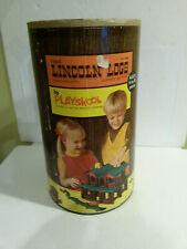 Playskool Lincoln Logs #892 1970s era classic building toy