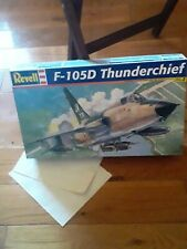 Revell 1:48 F-105D Thunderchief Model Kit (Open Box) the pieces are in plastic