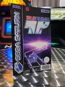 True Pinball - Sega Saturn Game Manual