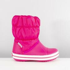 Crocs Kids Winter Puff Boot 14613 - 6x0 Candy Pink (synthetic) Childrens Girls 8 UK C 0887350804980