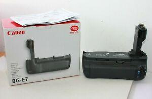 Canon BG-E7 Battery Grip for EOS 7D MK 1 Digital Camera.