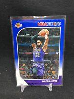 LeBron James Lakers 2019-20 NBA Hoops BLUE PARALLEL #87 G15