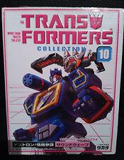 Transformers G1 SOUNDWAVE with LASERBEAK Takara Collection 10
