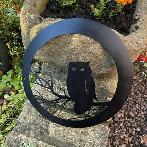 Halloween Owl - Metal Wall Art